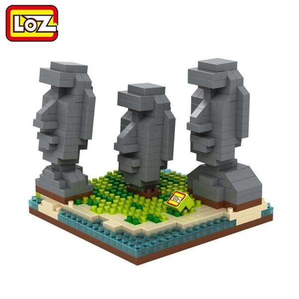 LOZ blocks Easter Island Statue