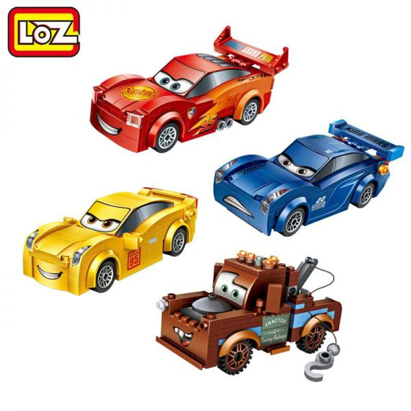 LOZ Racing Car Lightning Storm
