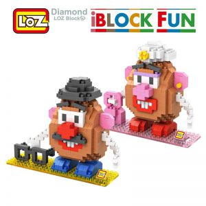 iBlock Fun Toys Story Mr. Potato Head