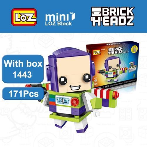 LOZ Brickheadz Toy Story Buzz Light year Woody Toys