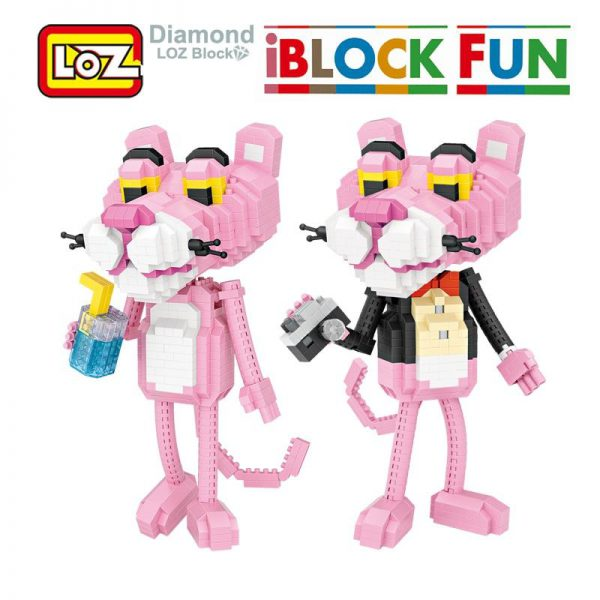 iBlock Fun Pink Panther lovely Leopard