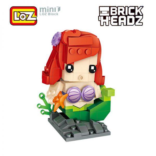 LOZ Brickheadz Ariel Little Mermaid
