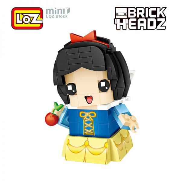LOZ Brickheadz Snow White Princes