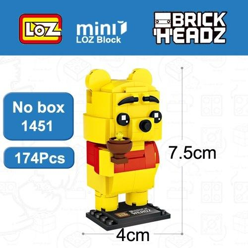 LOZ Winnie Honey Bear BrickHeadz