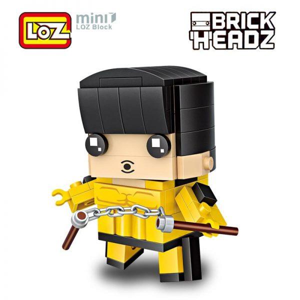 LOZ Bruce Lee Nunchaku Kung Fu
