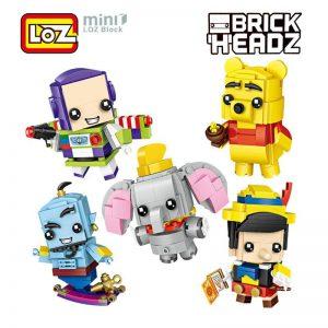 LOZ Buzz Light year Woody Snow White Pinocchio
