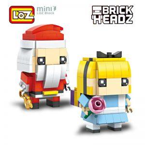 LOZ Santa Claus and Cinderella 2in1 Mini Building Blocks
