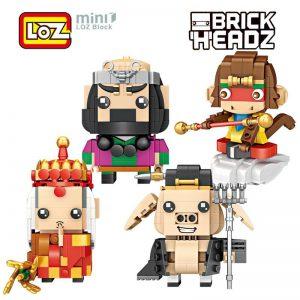 LOZ Brickheadz Journey to the West Monkey King