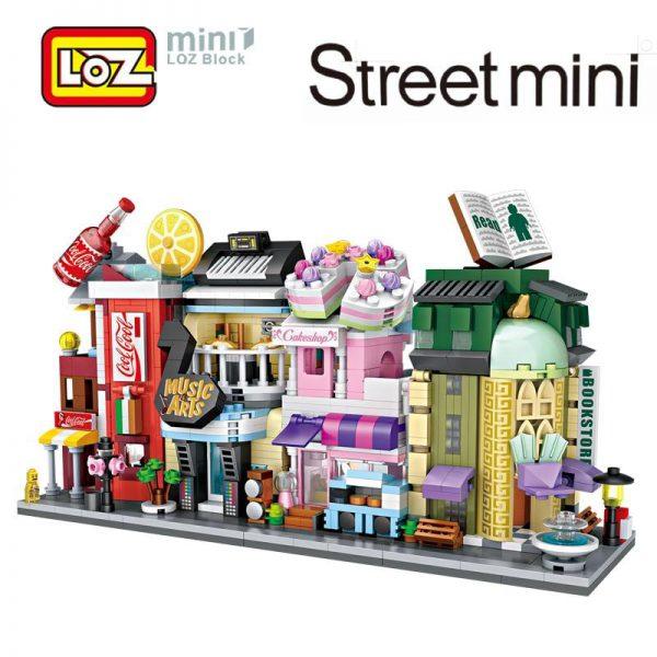LOZ Convenience Store - Musical Instruments - Shop Cake - Shop Bookstore