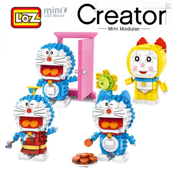LOZ Creator Doraemon Toys Limited Collection