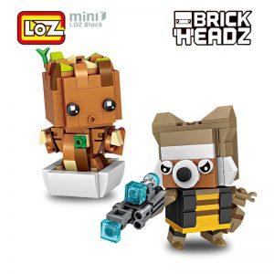LOZ Treant Rocket Racoon Guardians Galaxy | LOZ Mini Blocks