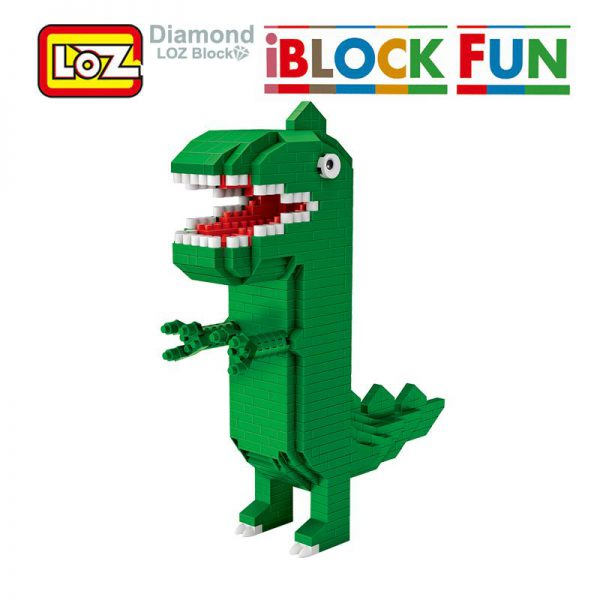 LOZ Cute Dinosaur Cartoon