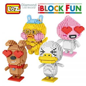 LOZ Ugly Duckling Puppy love Cafe Mini - iBlocks Fun