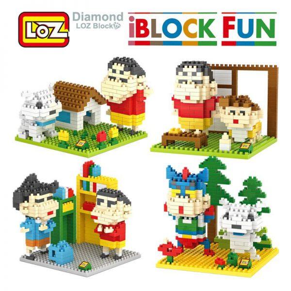 iBlock Fun Crayon Shin-chan