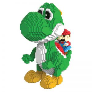 HC9020 Yoshi Dargon Cartoon DIY Magic Blocks Diamond Building Block 2276pcs