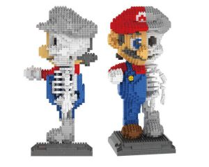 LOZ 7807 Super Mario Creator Magic Blocks 1686Pcs