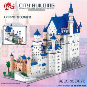 11810pcs New Swan Stone Castle Micro Building Blocks Famous Architecture LZ8020 Mini Bricks Kid Blocks Toys1 - LOZ™ MINI BLOCKS