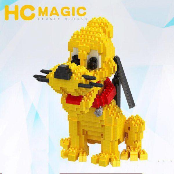 HC Magic Blocks Cartoon Bruto Dog Official LOZ BLOCKS STORE