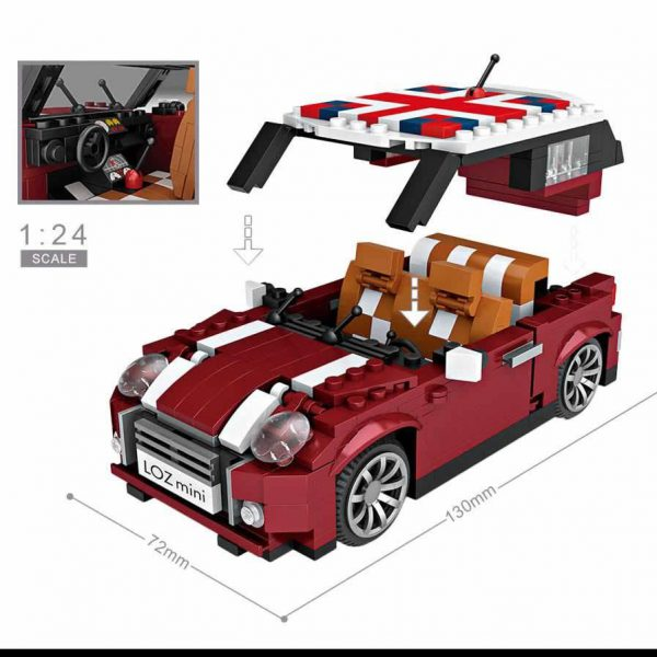 LOZ Mini Blocks Mini Car Model Official LOZ BLOCKS STORE