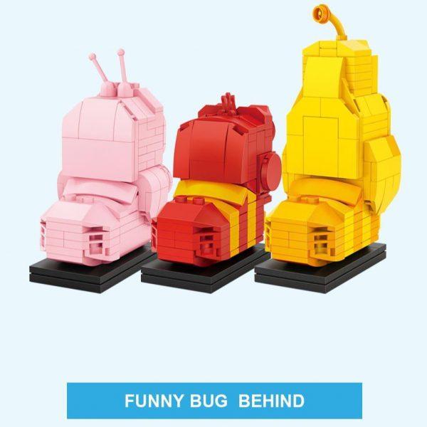 LOZ Mini Blocks Hilarious Bugs Official LOZ BLOCKS STORE