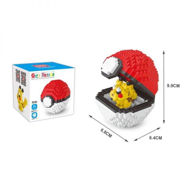 LOZ Pokemon Blocks Ball Blocks Official LOZ BLOCKS STORE