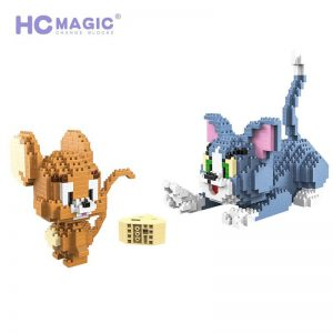 HC Magic Blocks Cartoon Tom And Jerry Official LOZ BLOCKS STORE