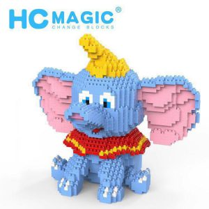 HC Magic Blocks Dumbo Elephant Official LOZ BLOCKS STORE