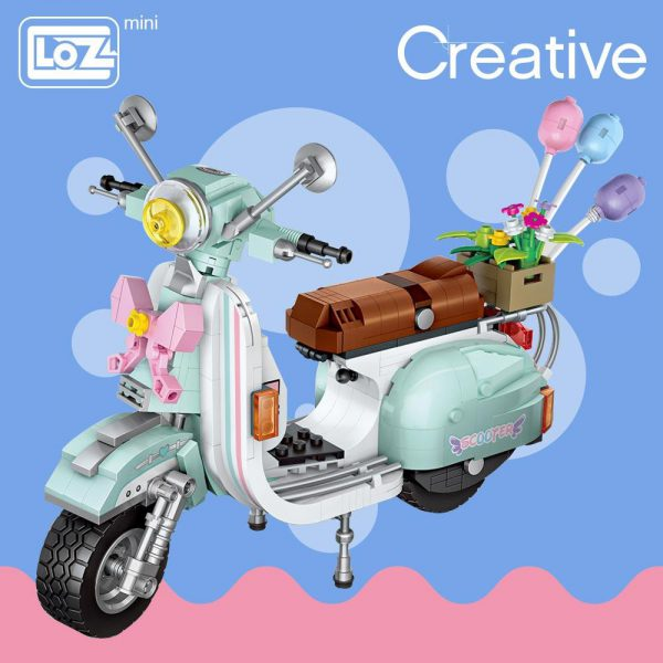 LOZ Mini  Blocks Motorcycle Sheep Official LOZ BLOCKS STORE
