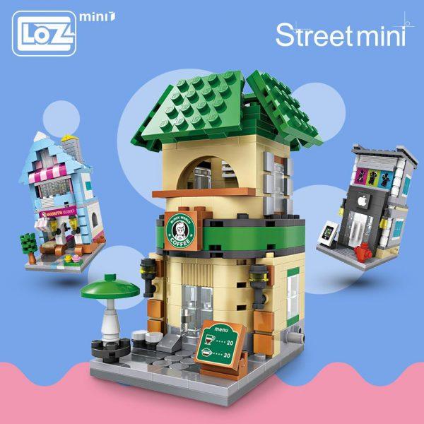 LOZ Mini Blocks City Mini Street Official LOZ BLOCKS STORE