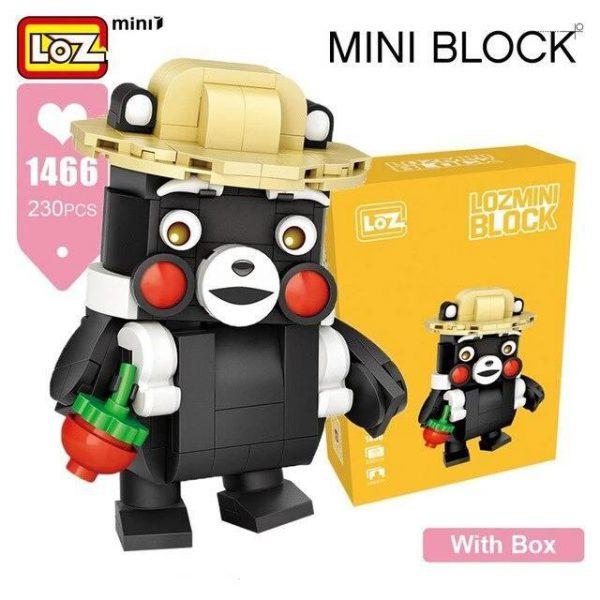 LOZ Mini Blocks Anime Cartoon Heads Official LOZ BLOCKS STORE