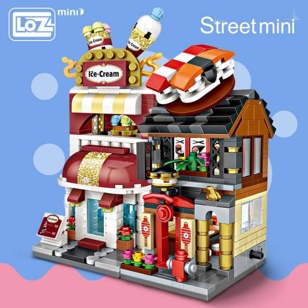 LOZ Mini Blocks Series Mini Street Model Official LOZ BLOCKS STORE