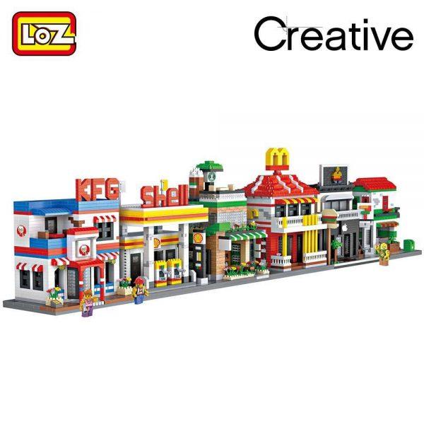 LOZ Diamond Blocks Restaurants Building Blocks Official LOZ BLOCKS STORE