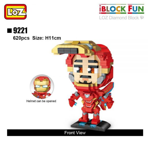 LOZ Diamond Blocks Super Heroes Official LOZ BLOCKS STORE