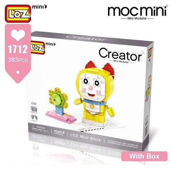 LOZ Mini Blocks Doraemon Brick Headz Official LOZ BLOCKS STORE