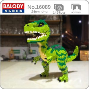 Balody 16089 Animal Velociraptor Monster Official LOZ BLOCKS STORE
