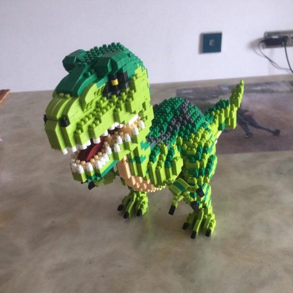 Balody 16089 Animal Velociraptor Monster Official LOZ BLOCKS STORE
