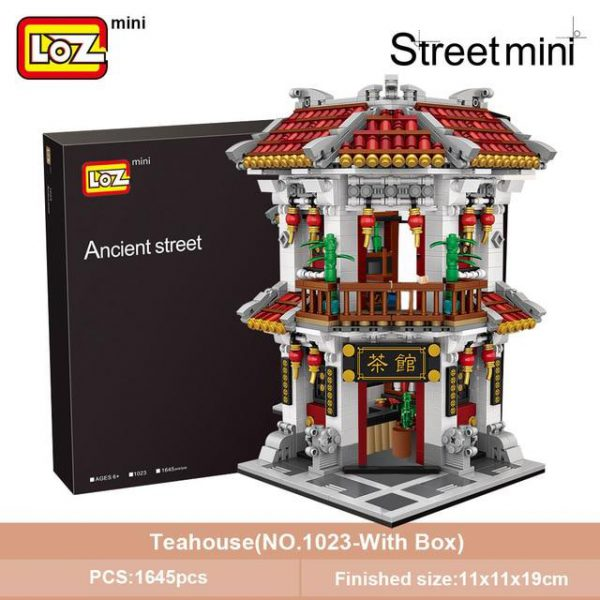 LOZ Mini Block Mini Ancient Chinatown Official LOZ BLOCKS STORE