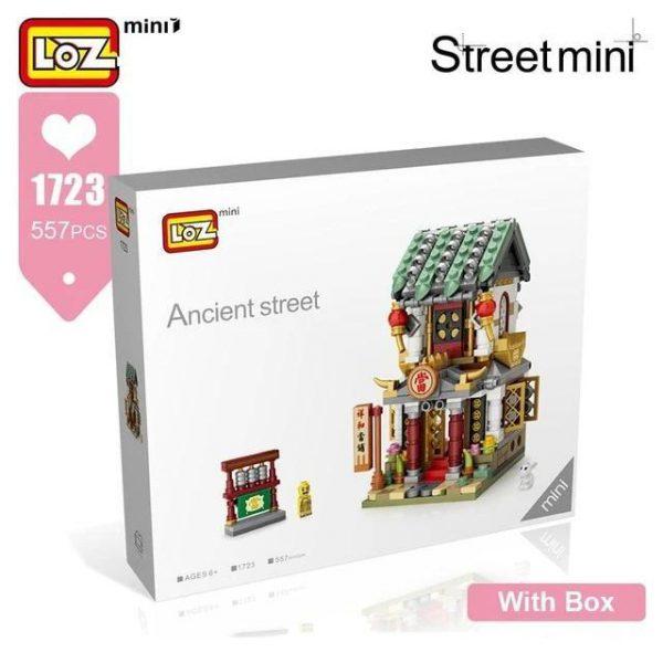 LOZ Mini Block Mini Chinese Tradition Street Official LOZ BLOCKS STORE