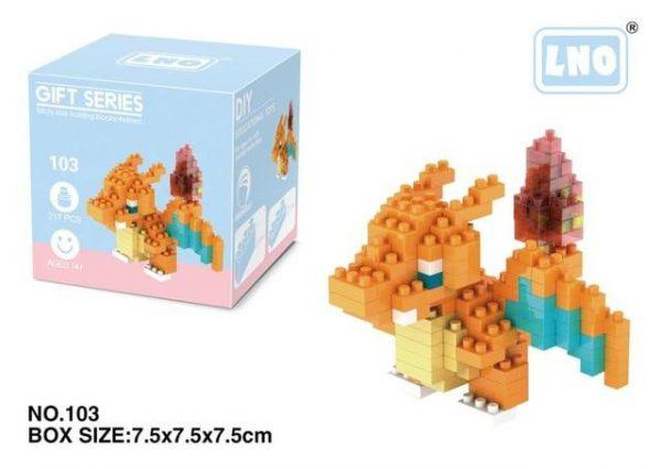 LNO POKEMON Building Blocks Action Figure Granules Official LOZ BLOCKS STORE