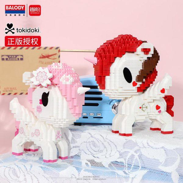 Balody Anime Cute Unicorn Official LOZ BLOCKS STORE