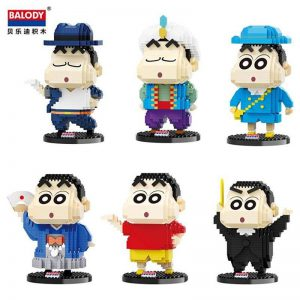 Balody Anime Crayon Shin-Chan Official LOZ BLOCKS STORE