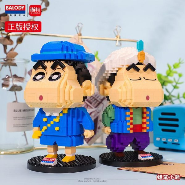 Balody Anime Crayon Shin-Chan Official LOZ BLOCKS STORE