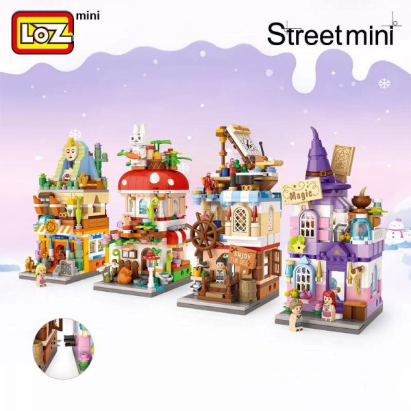 LOZ Mini Block Magic Commercial Street Official LOZ BLOCKS STORE