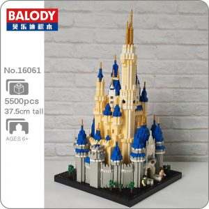 Balody 16061 Royal Big Castle World Famous Architecture Official LOZ BLOCKS STORE