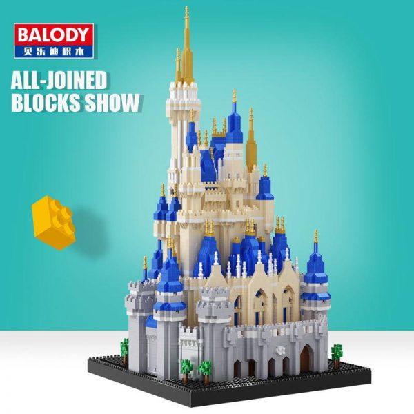 Balody 16061 Royal Big Castle World Famous Architecture Official LOZ BLOCKS STORE