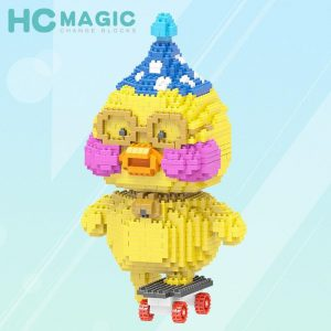 HC Magic Block Animal Cute Cartoon Duck Official LOZ BLOCKS STORE