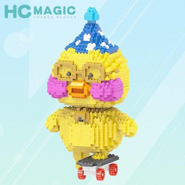HC Magic Block Animal Cute Cartoon Duck Official LOZ BLOCKS STORE