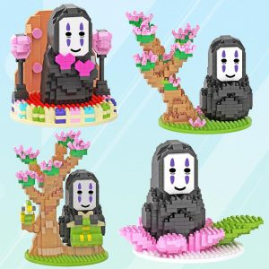 HC Magic Blocks No-Face Spirited Away Official LOZ BLOCKS STORE