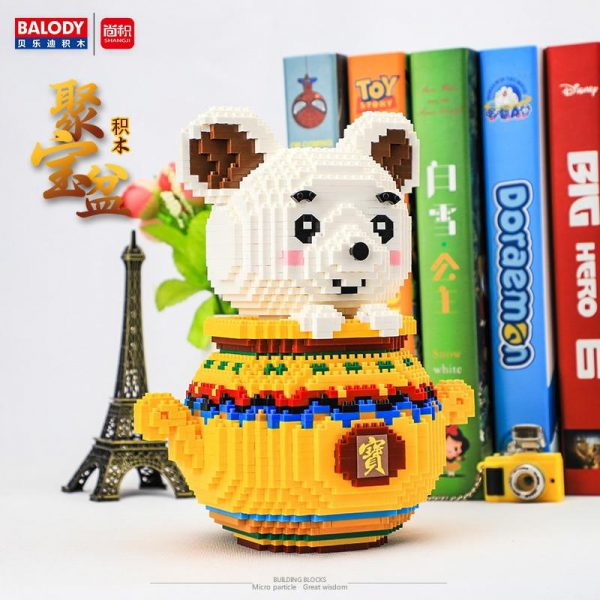 Balody Mouse God Of Fortune Official LOZ BLOCKS STORE