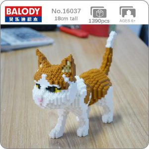 Balody 16037 Persian Cat Official LOZ BLOCKS STORE